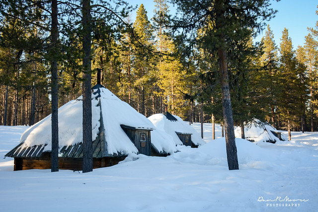 An Arctic Adventure in Swedish Lapland - Personal Wilderness Cabin
