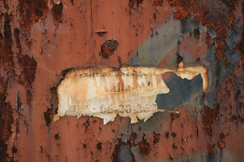 84 Rusty Color Metal texture - 83 # texturepalace