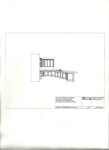kitchen design short wall1