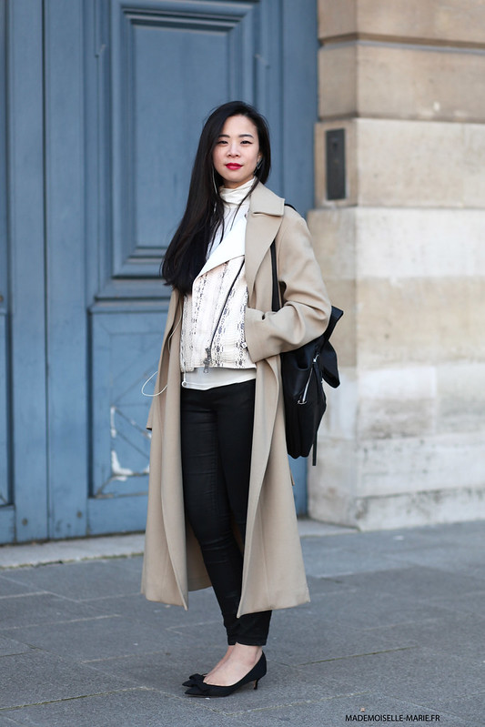 Yu Lee at Paris fashion week