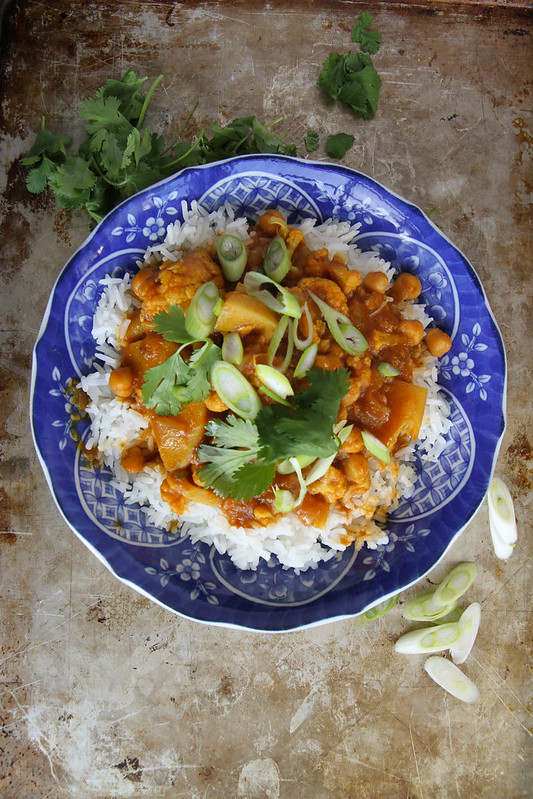 Cauliflower Vegetable Curry