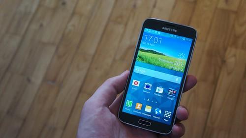 Samsung Galaxy S5 išmaniojo telefono apžvalga