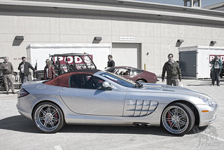 2007 Mercedes-Benz SLR McLaren Roadster at Amelia Island 2014
