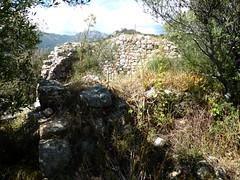 Ruines du castellu médiéval de Nota