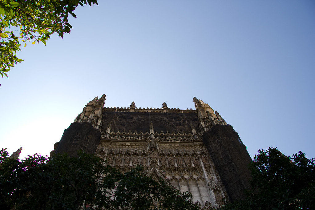 Outside the Cathedral of Seville