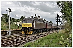 Dalesman at Hellifield 21/07/15
