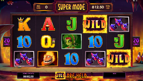 Hot as Hades Free Spins Feature