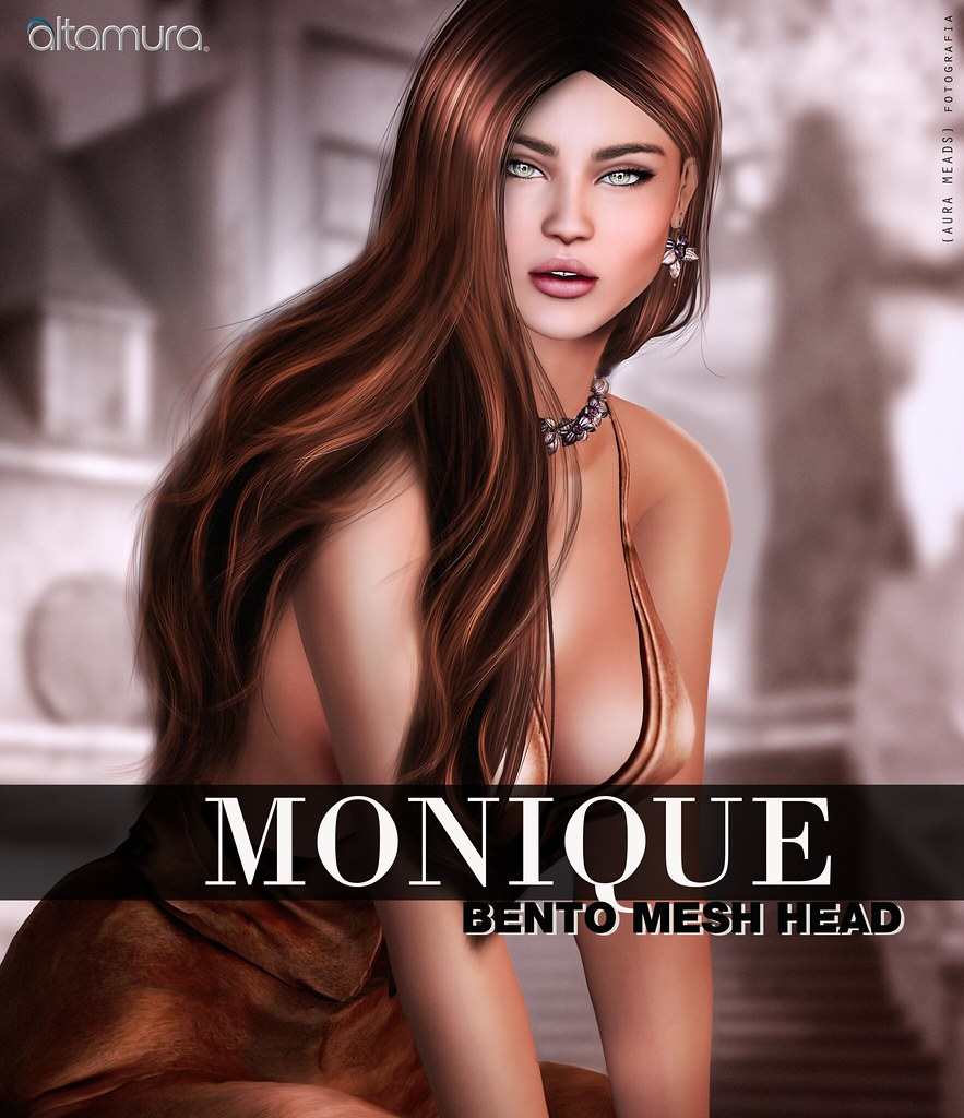 "Altamura: ""MONIQUE"" Bento Head - Coming Soon Exclusive @ Skin Fair 2017 - SecondLifeHub.com"