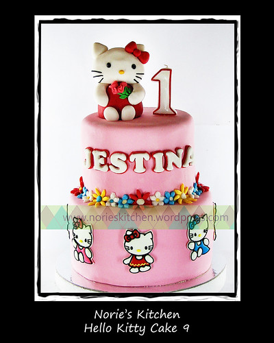 Norie's Kitchen - Hello Kitty Cake 9 by Norie's Kitchen