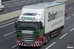 Scania R440 6x2 Tractor - PX13 BNB - Elizabeth Anne - Eddie Stobart - M1 J10 Luton - Steven Gray - IMG_9439