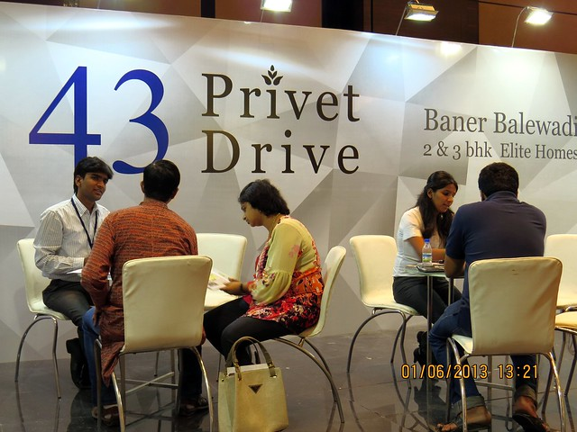 www.43privetdrive.com - Visit Times Property Showcase 2013, 1st &2nd June 2013, JW Marriott, S B Road, Pune