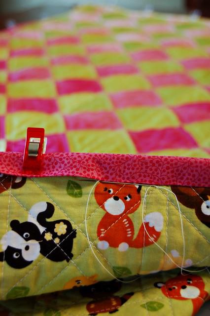 Binding Baby's Quilt