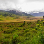 Solo Hike through Bromo Volcano's Savanna and Sea of Sand in East Java, Indonesia