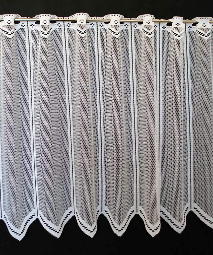 25 cm breite scheibengardine neutral 60 cm hoch wei ebay. Black Bedroom Furniture Sets. Home Design Ideas