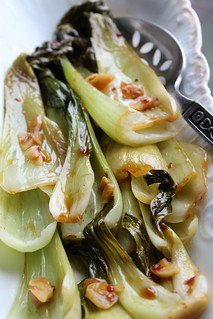 Thai Spiced Baby Bok Choy