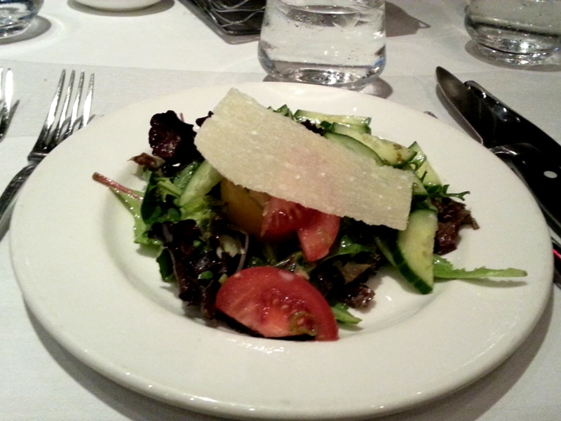Harbour Sixty salad