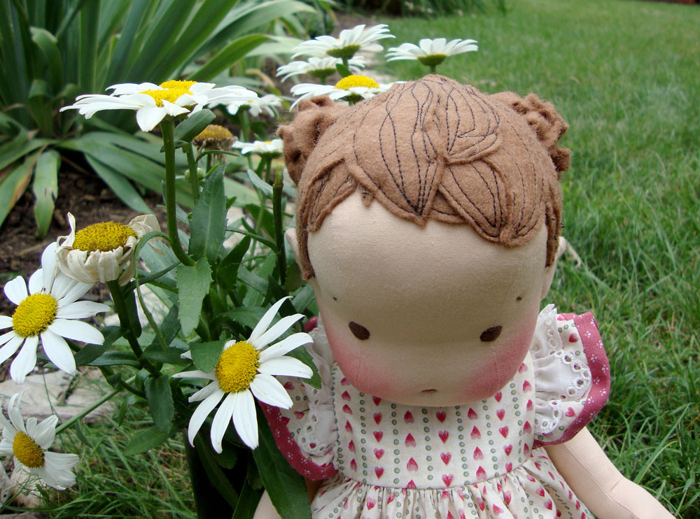 """Alice- 14"""" button jointed baby doll"""
