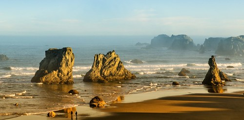 Early Morning at the Ocean (Bandon, Or)