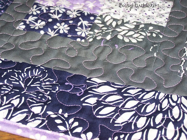 Phoebe's Flower Box Table Runner