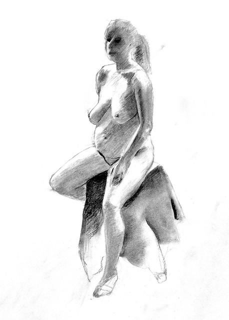 charcoal figure 7/5/2013