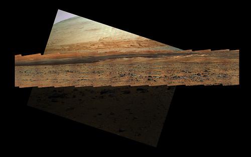Curiosity MastCam right sol 323 and MAHLI sol 327