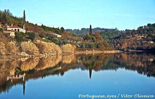 Albufeira da Barragem de Fagilde - Portugal
