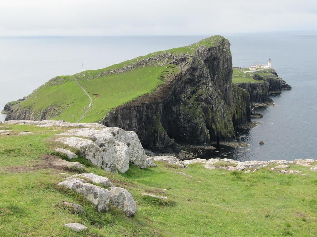 Neist Point Isla de Skye viajar a Escocia