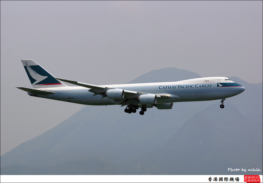 Cathay Pacific Airways B-LJG-004