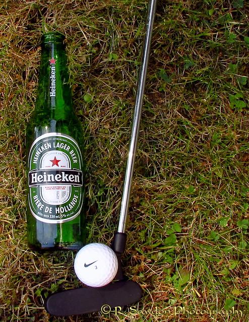 Golf is hard work !!!!