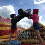 Inflatable fun at Transform