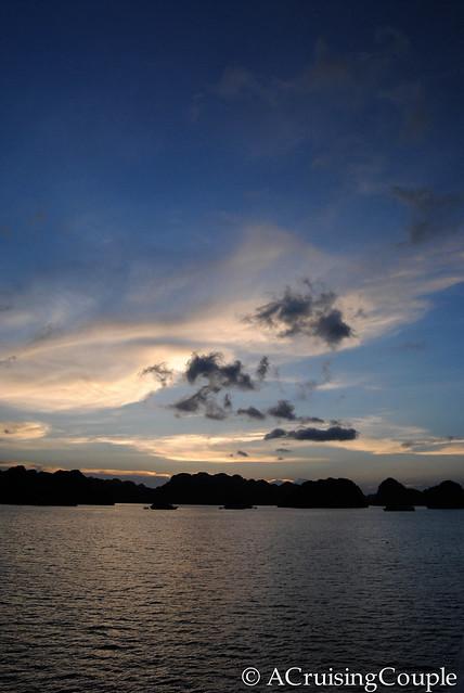 Halong Bay Vietnam Night