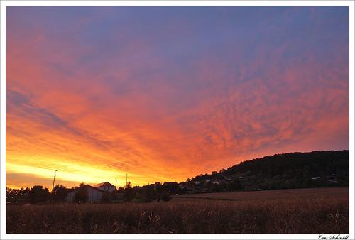 sunset sky clouds sonnenuntergang himmel wolken