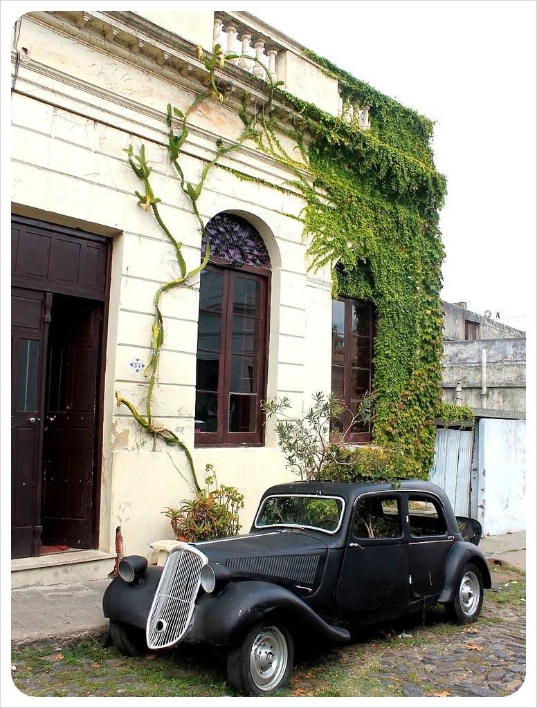 uruguay Citroen Traction Avant colonia de sacramento