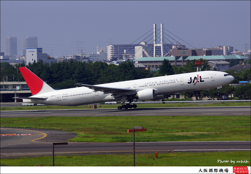 Japan Airlines - JAL JA751J