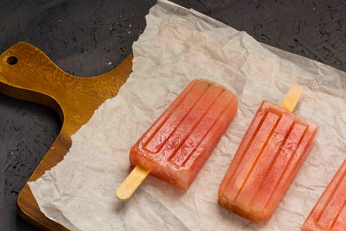 Wassermelonen Kokosnuss Ice Pops