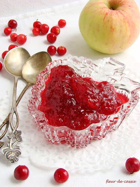 варенье брусничное с яблоками 1