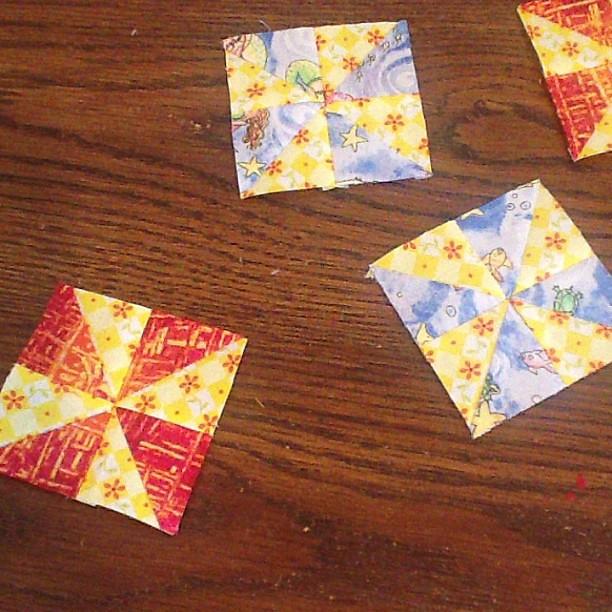3 inch pinwheel blocks
