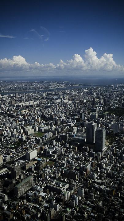 Before the Horizon there is Kasai, Tokyo, Where I Dwell