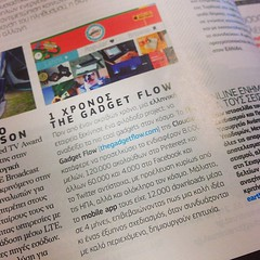 Thanks for featuring #thegadgetflow @pcmagazine :)