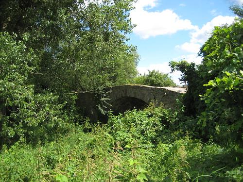 vor 1588 Wahlitz Klus-Naturstein-Wölbungsbrücke des Klusdamms über Ehle Zur Klus westlich 39175