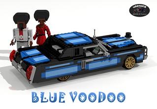 Linotopia - Blue Voodoo - 1971 Cadillac Eldorado Hardtop