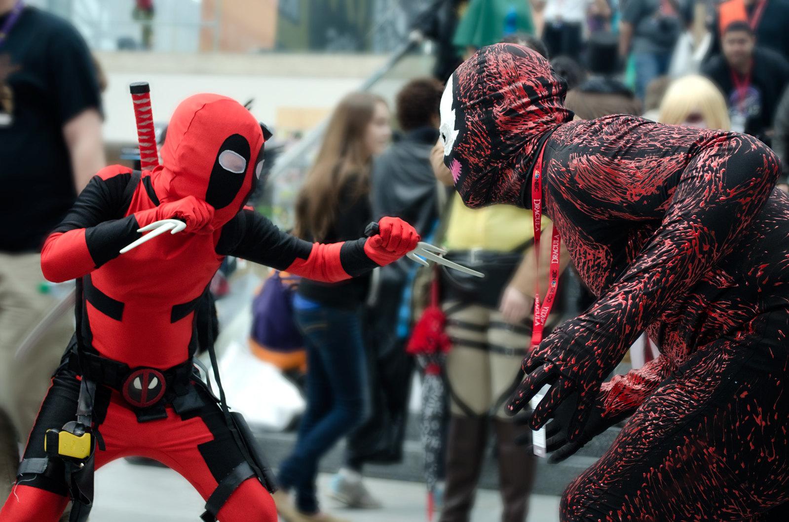 NYCC Deadpool Cosplay