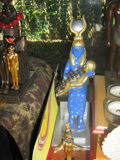 Netjeru Shrine - Aset-Nut and Nit