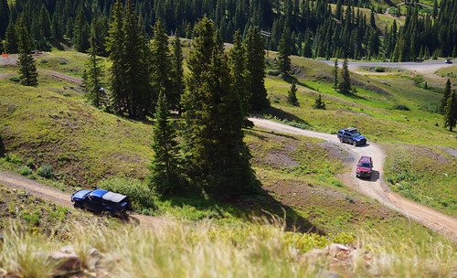 Toyotas all over the Summit