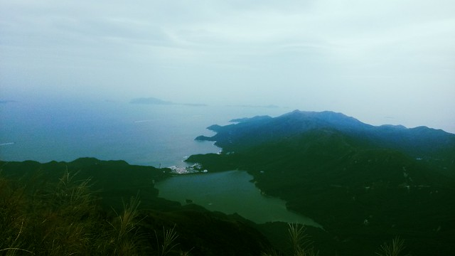 View from Lantau Peak