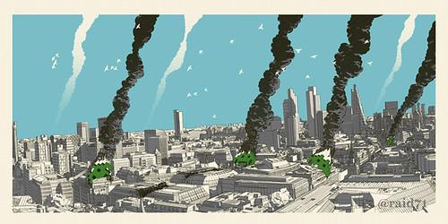 Cultural Impact - London by Raid71