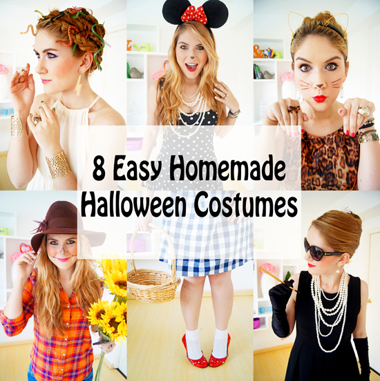 The joy of fashion halloween 8 easy homemade halloween costumes 8 easy halloween costumes solutioingenieria Image collections