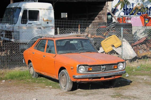 Subaru Leone 1st generation (Very unusual)
