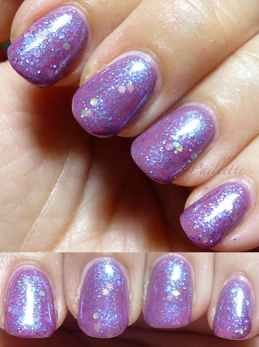 Paillette: a little nail polish journal: Dusty Purple Layering