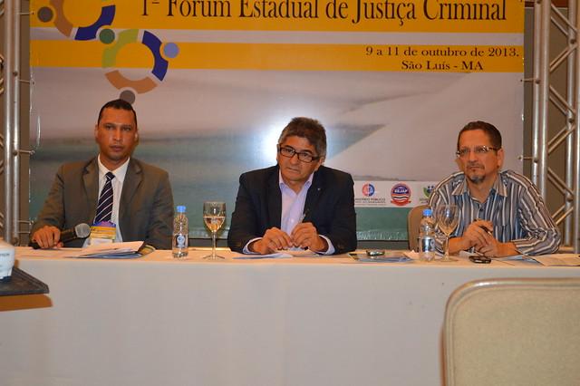 1º Fórum Estadual de Justiça Criminal